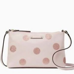 Kate Spade Haven Lane Ramey Pink/Glitter Crossbody